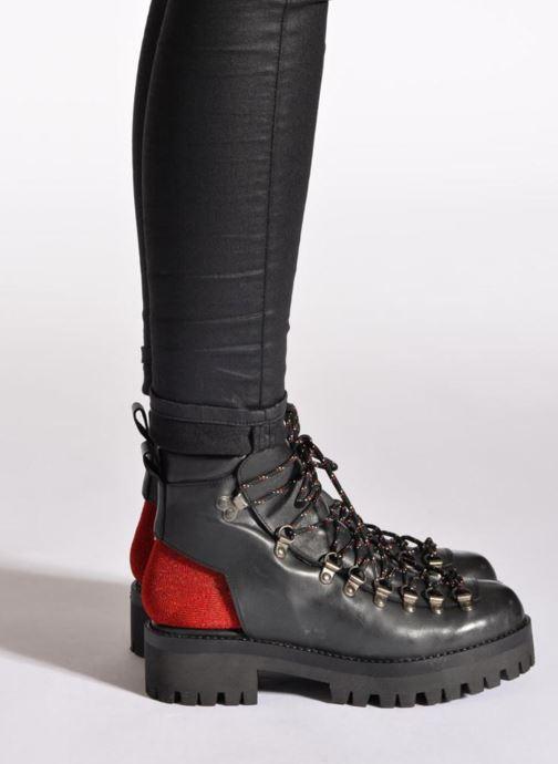Bottines et boots Intentionally blank Tharp Noir vue bas / vue portée sac