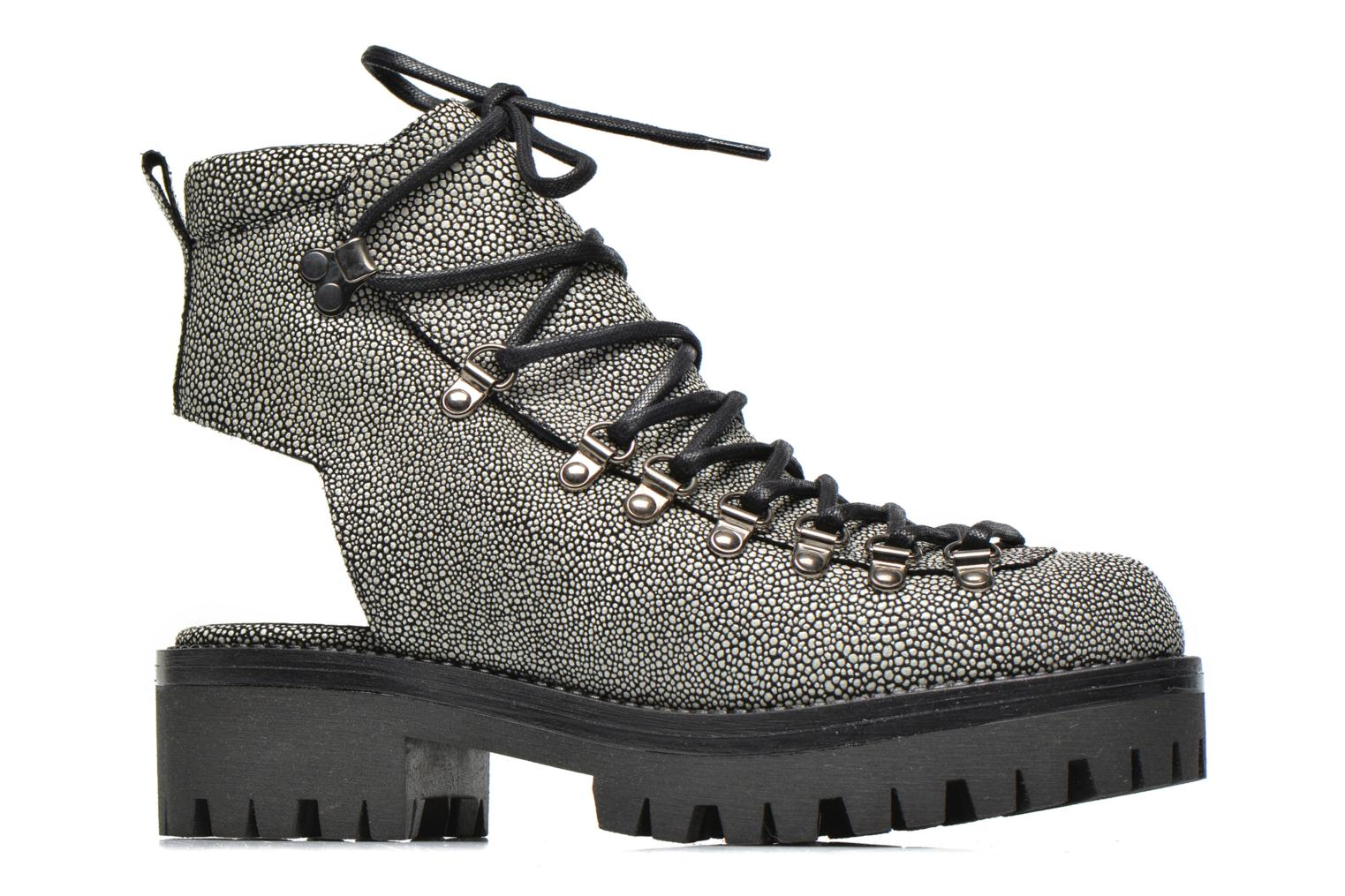 Ankle boots Intentionally blank Tharp Grey back view