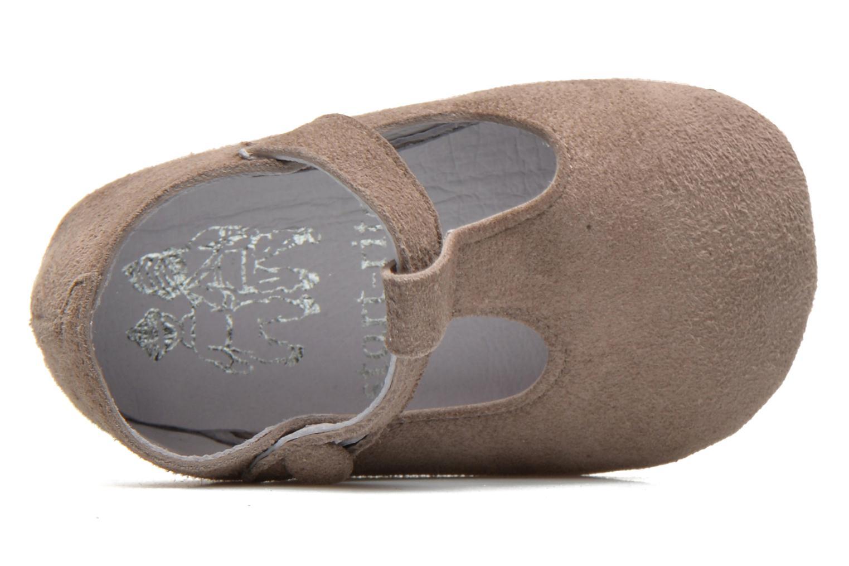 Pantofole Start Rite Baby Edward Grigio immagine sinistra
