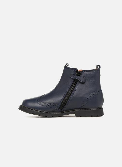 Bottines et boots Start Rite Chelsea Bleu vue face