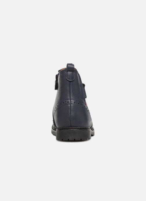 Bottines et boots Start Rite Chelsea Bleu vue droite