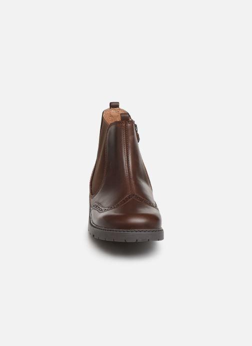 Bottines et boots Start Rite Chelsea Marron vue portées chaussures