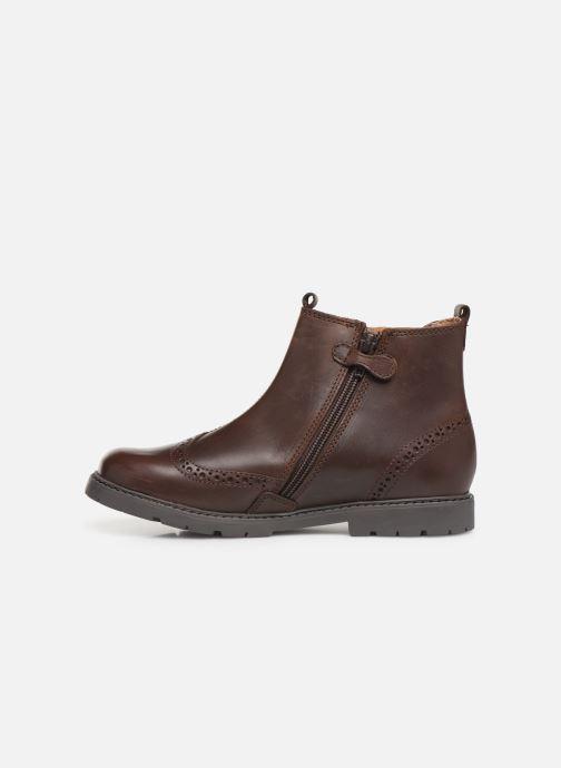 Boots en enkellaarsjes Start Rite Chelsea Bruin voorkant