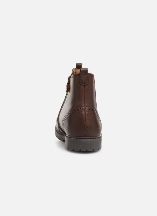 Bottines et boots Start Rite Chelsea Marron vue droite