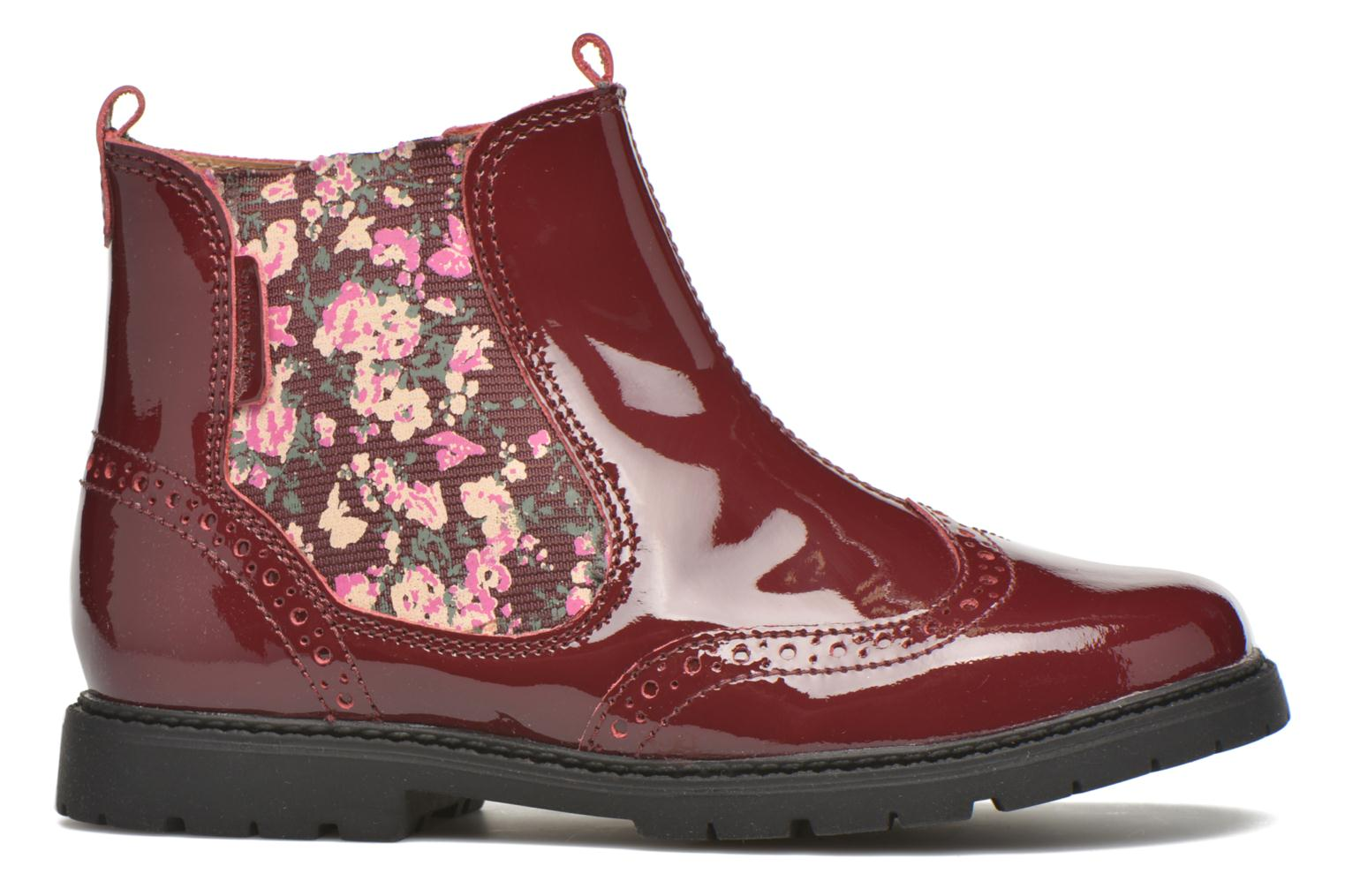 Ankle boots Start Rite Chelsea Burgundy back view
