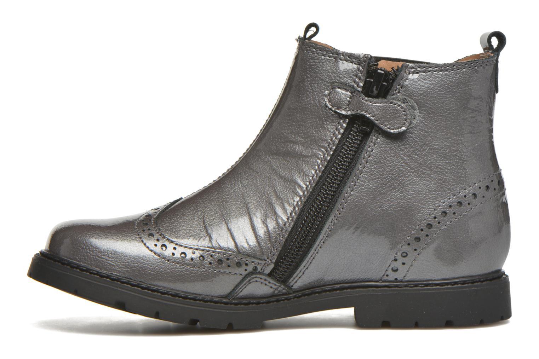 Stiefeletten & Boots Start Rite Chelsea grau ansicht von vorne