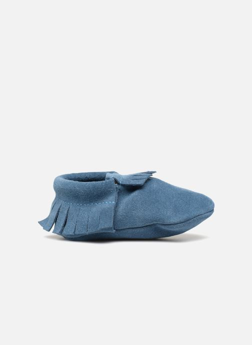 Slippers Hippie Ya Mocassins Daim Blue back view
