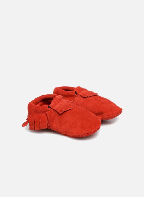 Hausschuhe Hippie Ya Mocassins Daim rot detaillierte ansicht/modell