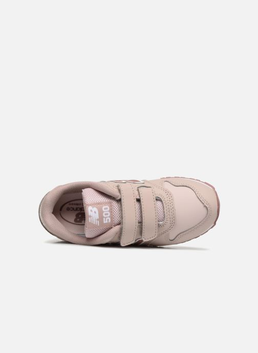 Trainers New Balance KV500 Beige view from the left