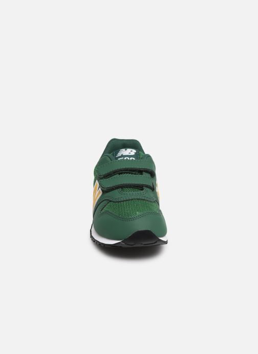 Baskets New Balance KV500 Vert vue portées chaussures