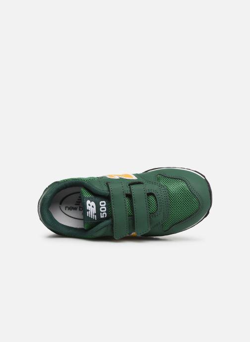 Sneaker New Balance KV500 grün ansicht von links