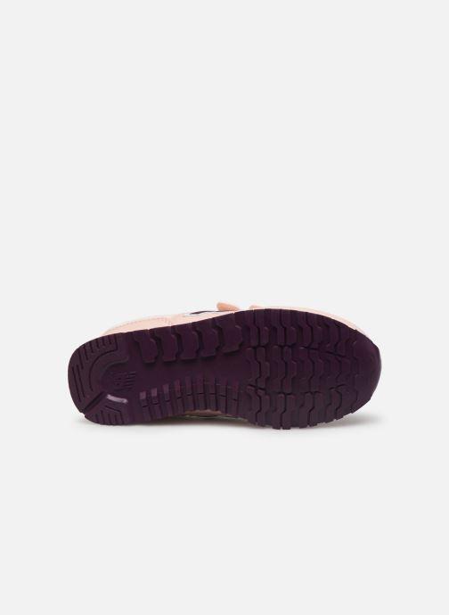 Sneaker New Balance KV500 rosa ansicht von oben