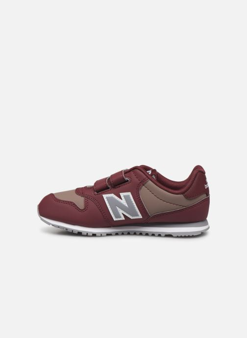 Baskets New Balance KV500 Bordeaux vue face