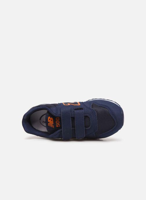 Sneaker New Balance KV500 blau ansicht von links