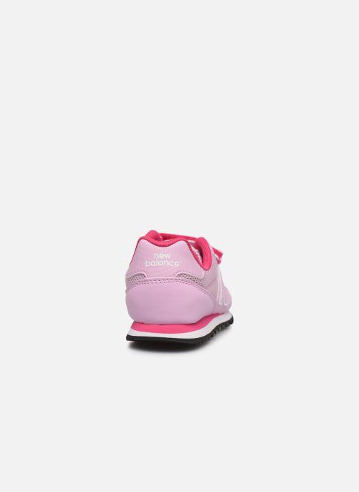 Sneaker New Balance KV500 rosa ansicht von rechts