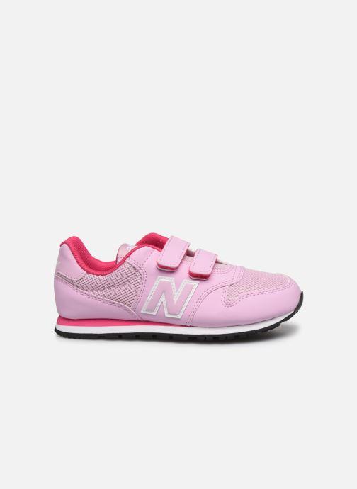 Sneaker New Balance KV500 rosa ansicht von hinten