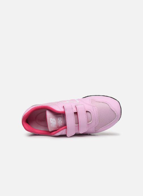 Sneaker New Balance KV500 rosa ansicht von links