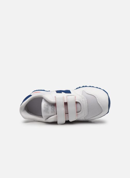 Sneakers New Balance KV500 Bianco immagine sinistra