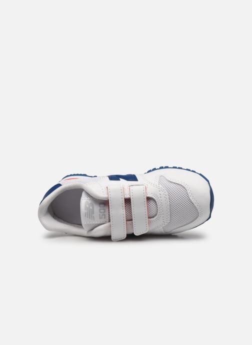 Sneaker New Balance KV500 weiß ansicht von links