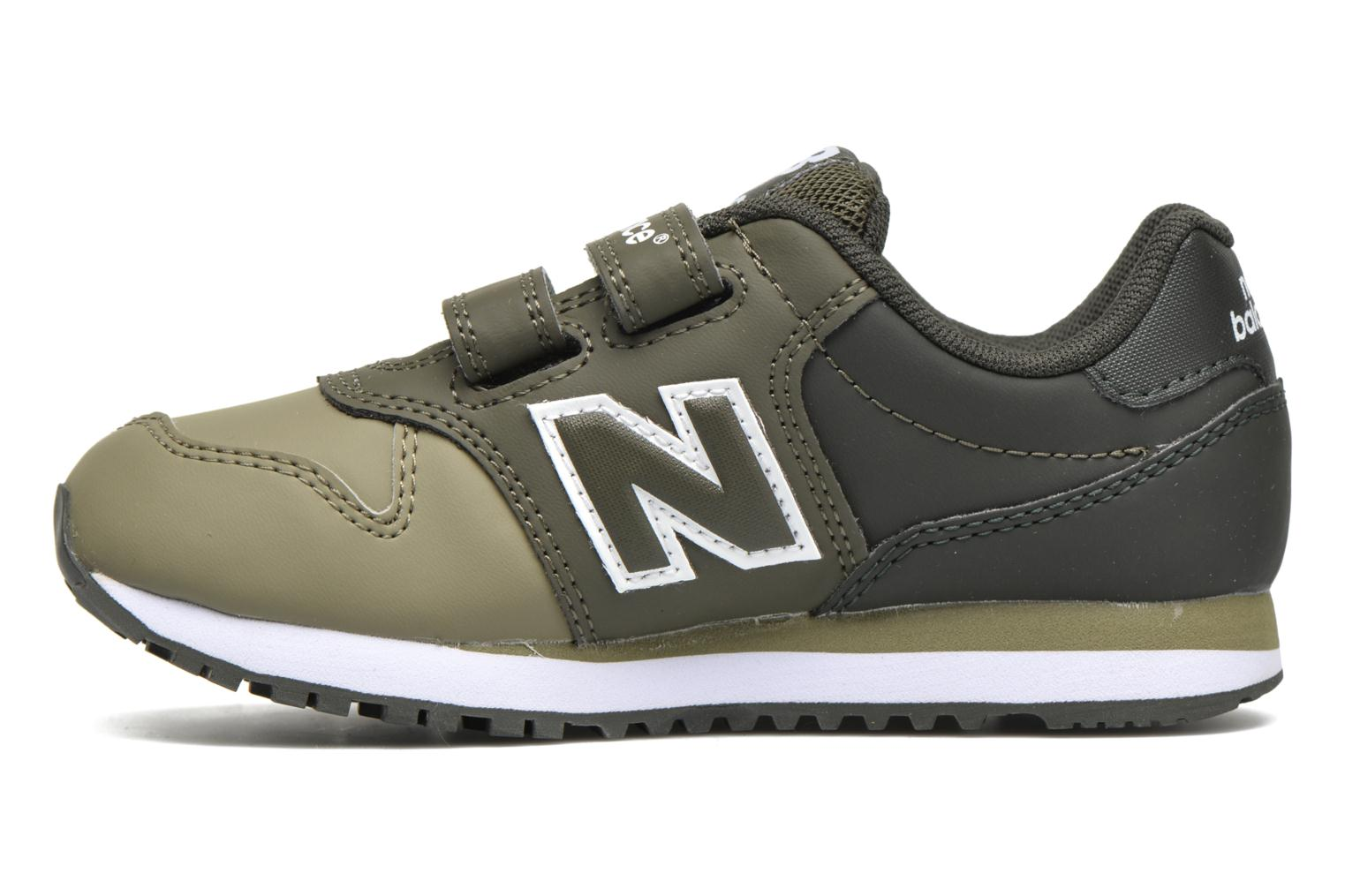 Baskets New Balance KV500 Vert vue face