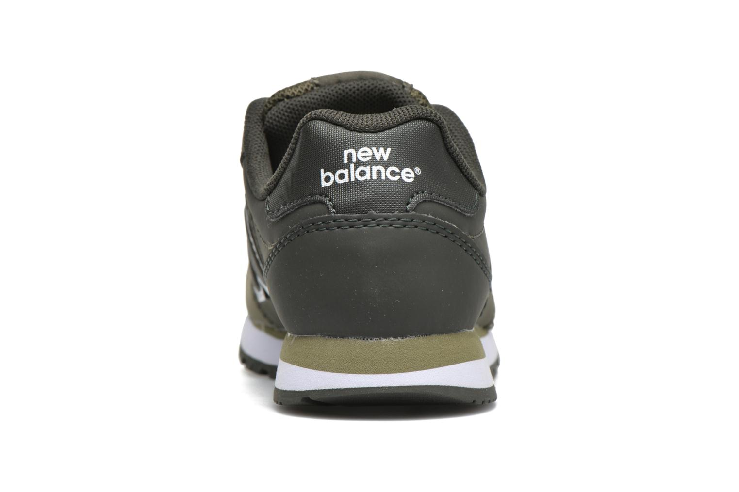 Trainers New Balance KV500 Green view from the right