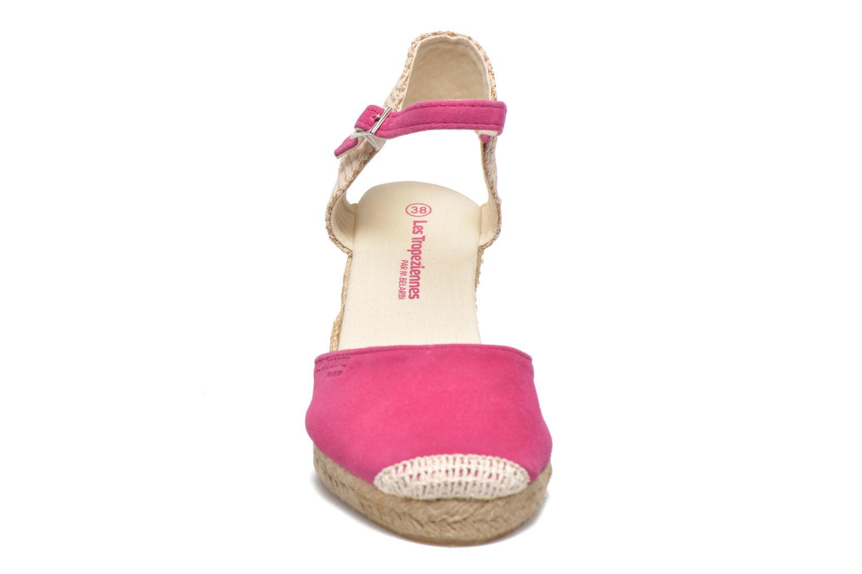 Sandalen Les Tropéziennes par M Belarbi Cloclo rosa schuhe getragen