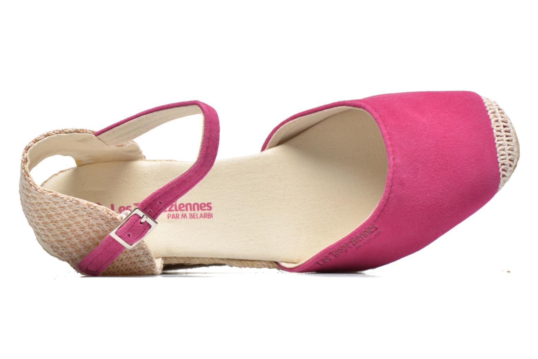 Sandalen Les Tropéziennes par M Belarbi Cloclo rosa ansicht von links