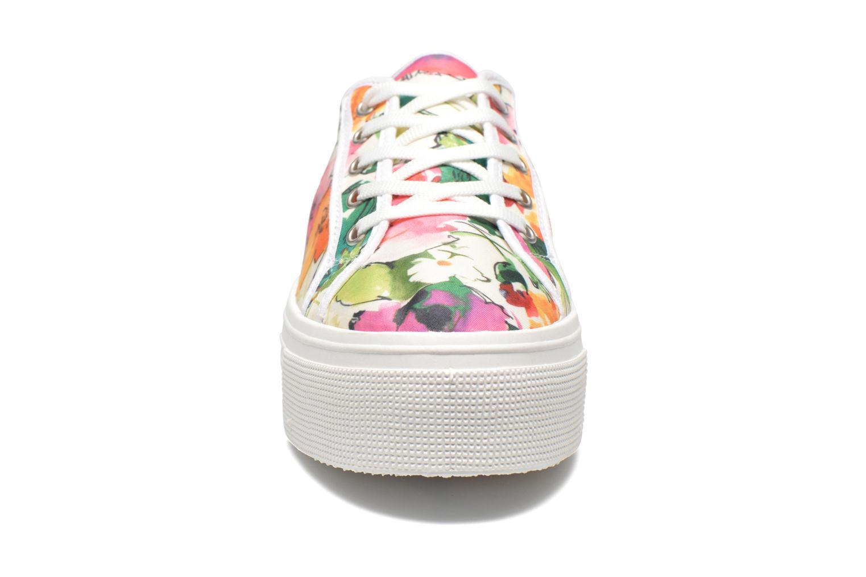 Baskets Les Tropéziennes par M Belarbi Samba Blanc vue portées chaussures
