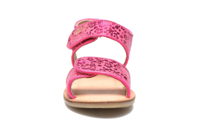 Sandales et nu-pieds Les Tropéziennes par M Belarbi Sissi Rose vue portées chaussures