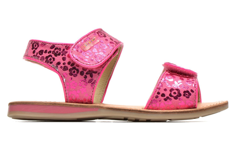 Sandales et nu-pieds Les Tropéziennes par M Belarbi Sissi Rose vue derrière