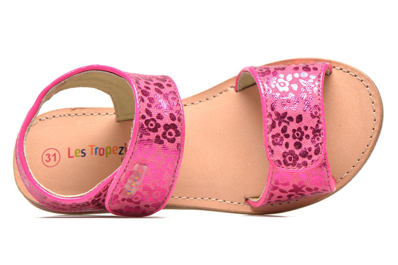Sandales et nu-pieds Les Tropéziennes par M Belarbi Sissi Rose vue gauche