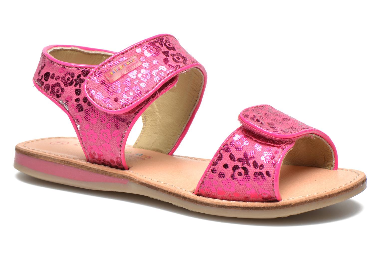 Sandales et nu-pieds Les Tropéziennes par M Belarbi Sissi Rose vue détail/paire