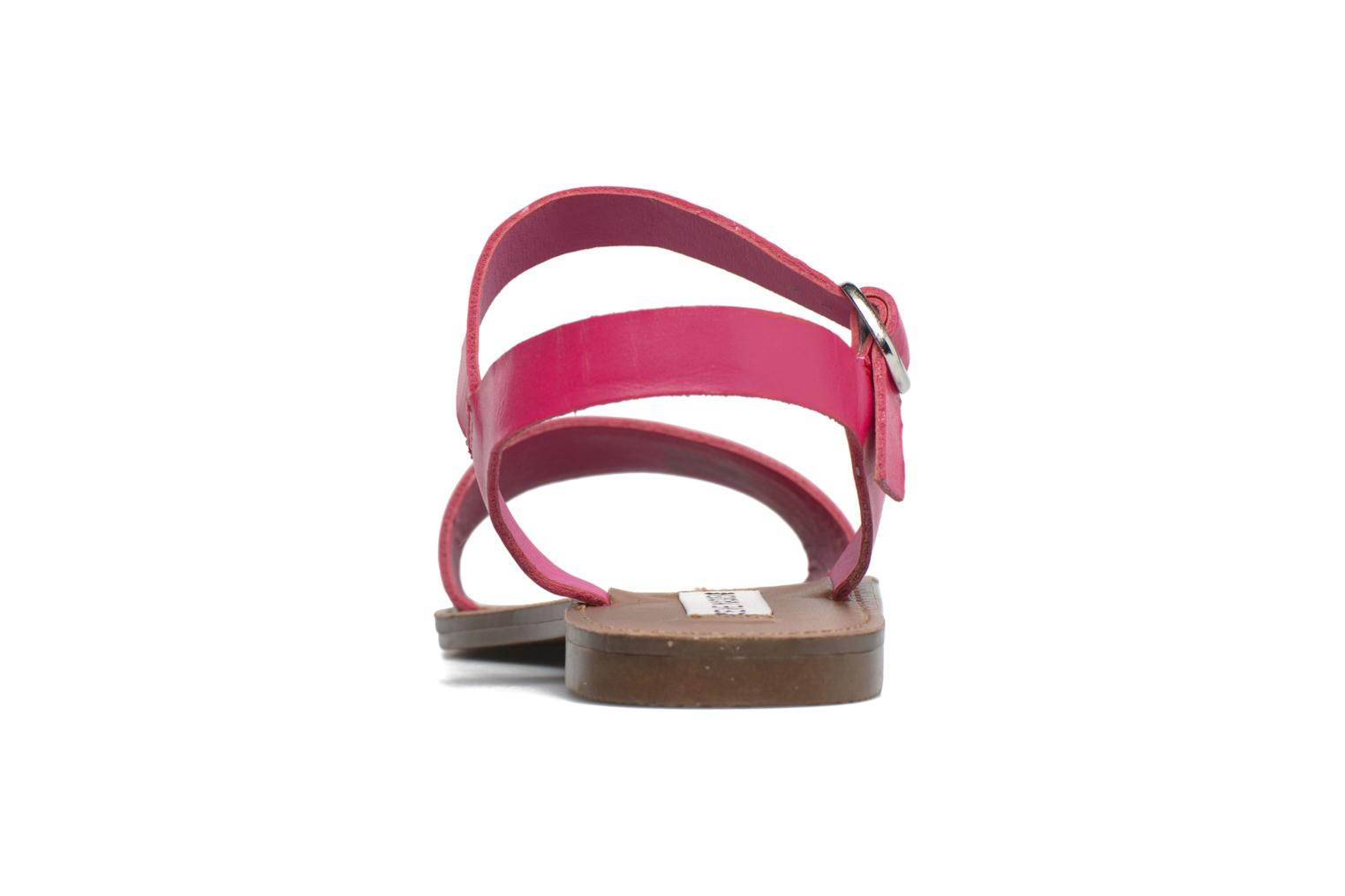 Sandals Steve Madden Donddi Pink front view