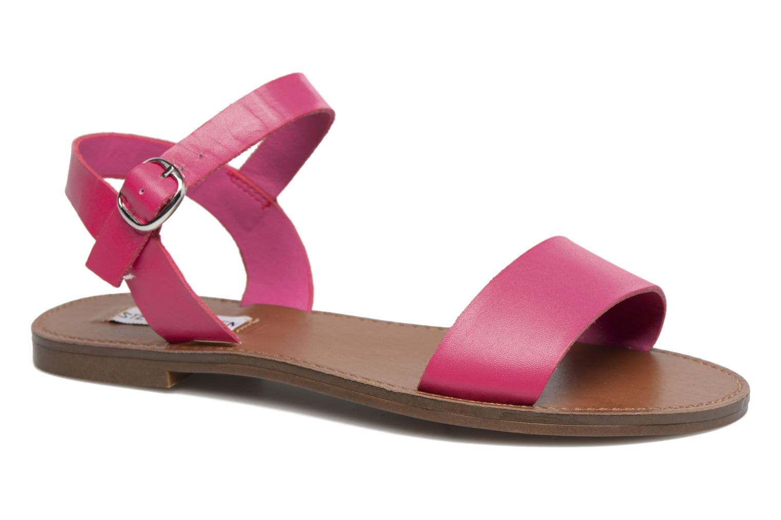 Sandals Steve Madden Donddi Pink detailed view/ Pair view
