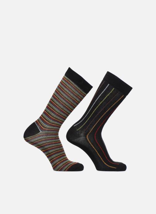Chaussettes et collants Sarenza Wear Chaussettes Rayures Pack de 2 Multicolore vue détail/paire