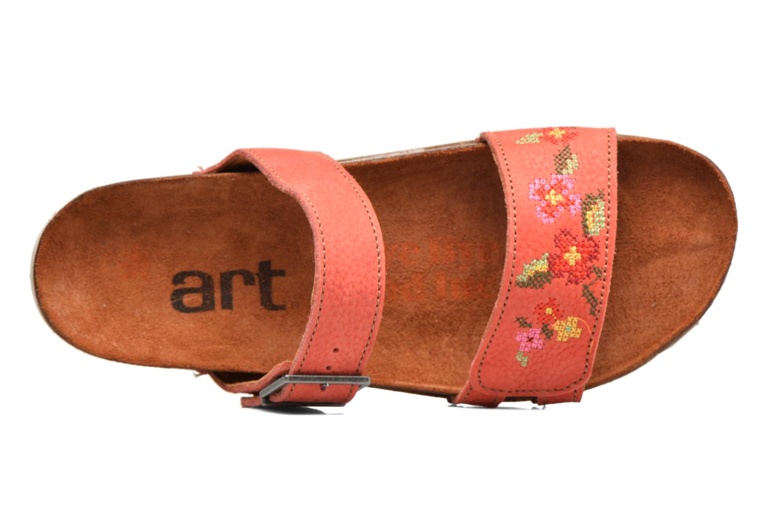 Mules & clogs Art I Breathe 978 Pink view from the left