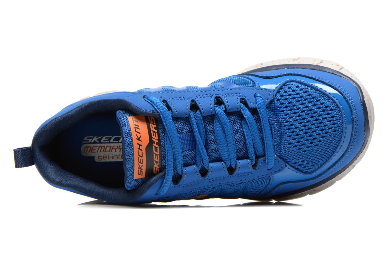 Baskets Skechers Synergy Power Blast Bleu vue gauche