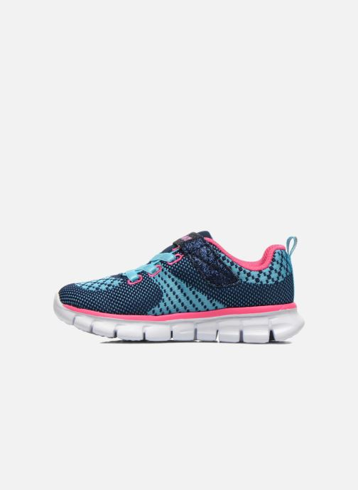 Trainers Skechers Synergy Lil Bubbly Blue front view