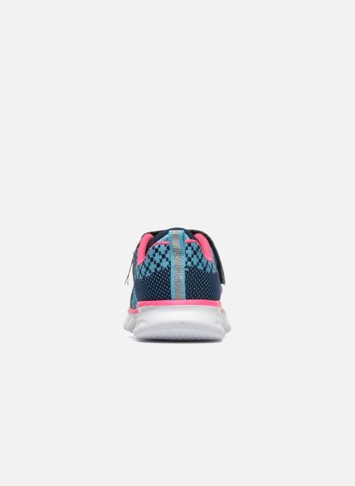 Trainers Skechers Synergy Lil Bubbly Blue view from the right
