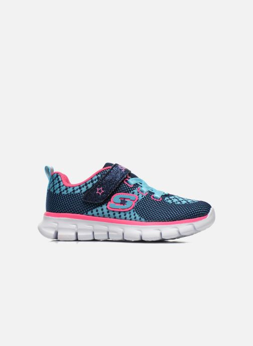 Sneakers Skechers Synergy Lil Bubbly Blauw achterkant