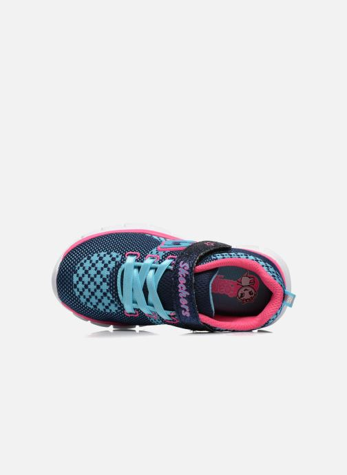 Sneakers Skechers Synergy Lil Bubbly Blauw links