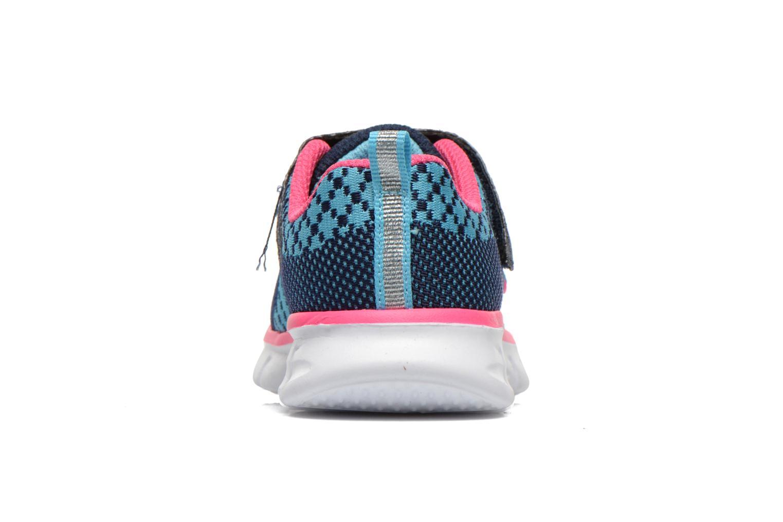 Baskets Skechers Synergy Lil Bubbly Bleu vue droite