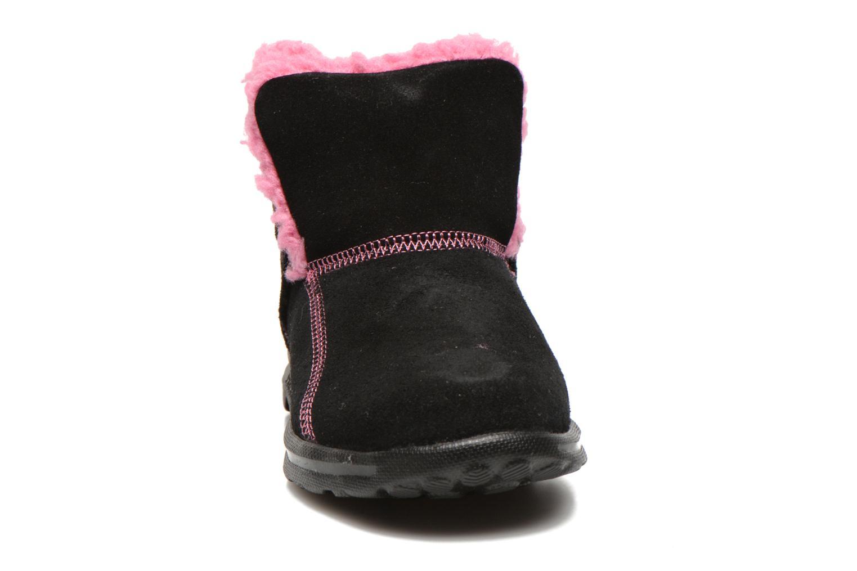 Stiefeletten & Boots Skechers Go Walk Chugga schwarz schuhe getragen