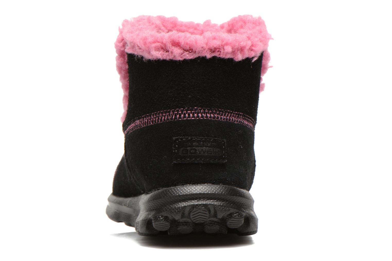 Stiefeletten & Boots Skechers Go Walk Chugga schwarz ansicht von rechts