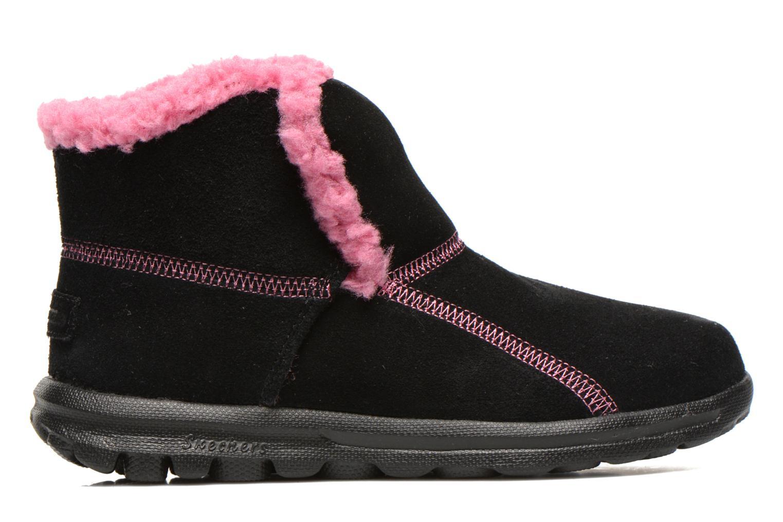 Stiefeletten & Boots Skechers Go Walk Chugga schwarz ansicht von hinten