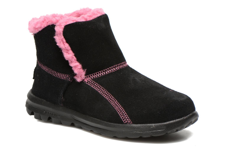 Boots Skechers Go Walk Chugga Svart detaljerad bild på paret