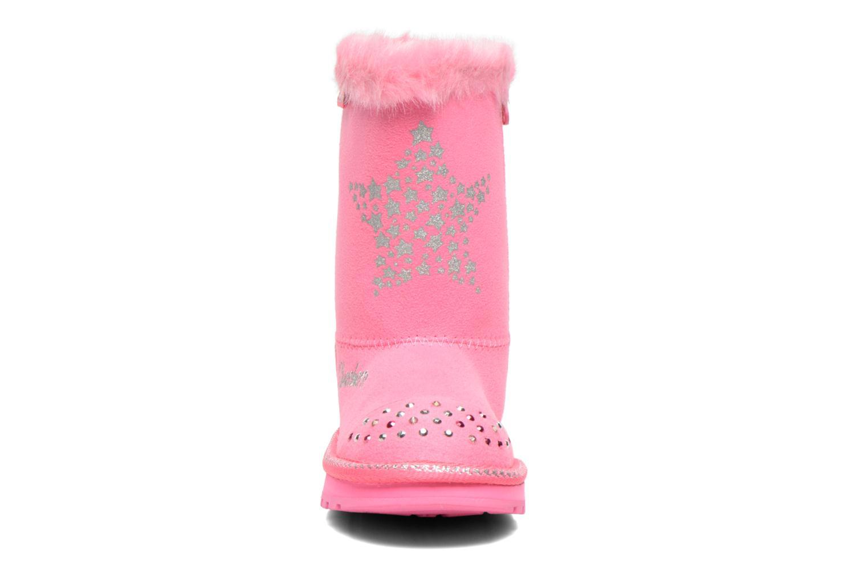 Bottes Skechers Keepsakes Fufu Baby Rose vue portées chaussures