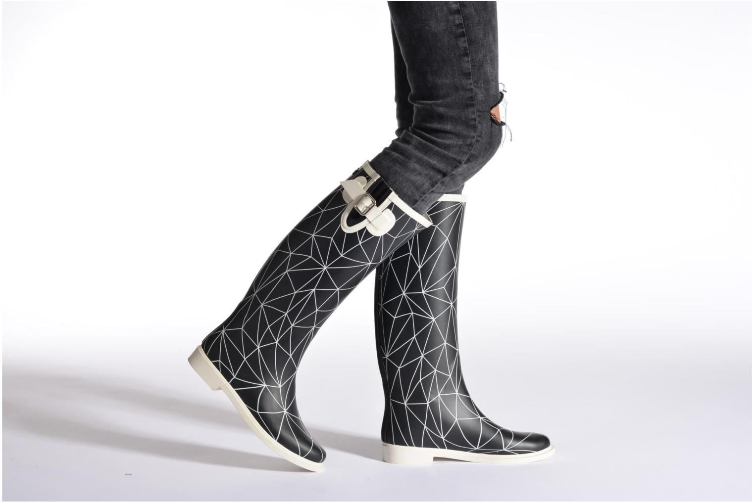 Boots & wellies United Nude Rain Boot Multicolor view from underneath / model view