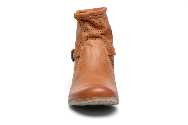 Bottines et boots Bunker Esther Mine Marron vue portées chaussures
