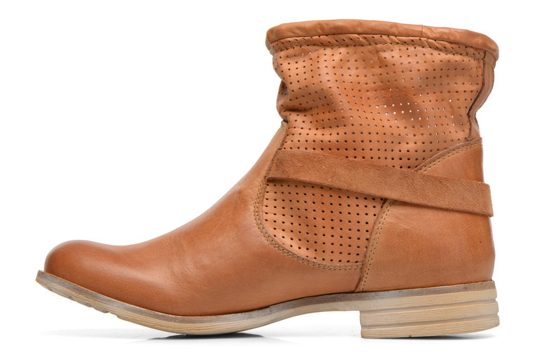 Bottines et boots Bunker Esther Mine Marron vue face